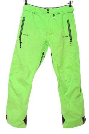 Gore Tex Kombinezon na śnieg zielony W stylu casual