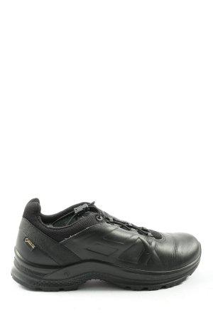 Haix Sneaker con zeppa nero stile casual