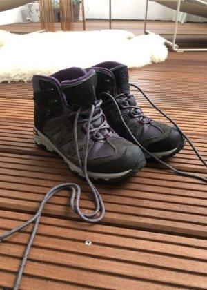 Brütting Low boot gris-violet