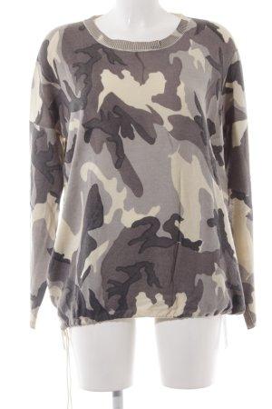 Gorgeous Rundhalspullover Camouflagemuster