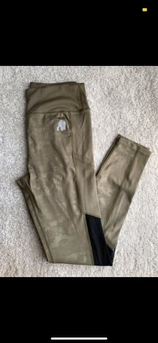 Pantalone da ginnastica cachi-verde oliva