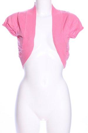 Gossip Knitted Bolero pink casual look