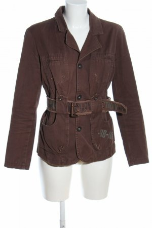 gotha Military Jacket brown cotton