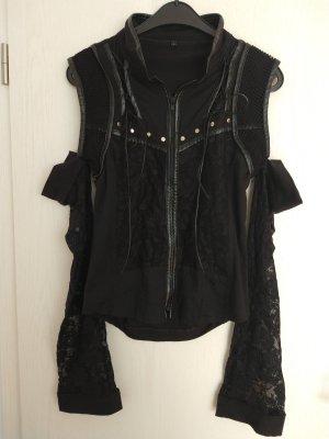 Gothic Jacke mit Spitze und Nieten
