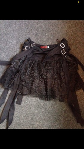 ADERLASS Lace Skirt black
