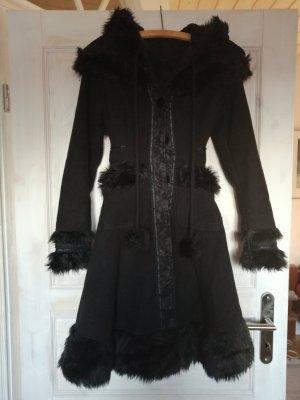 'Gothic Style' Mantel mit Kapuze