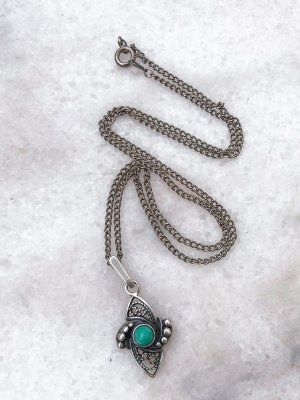 Gotische Blütenkette von meiner Uroma aus silber #925