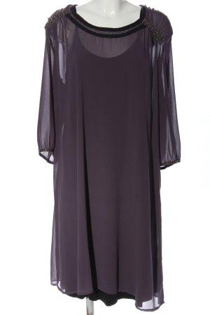 GOZZIP Sukienka z halką fiolet W stylu casual