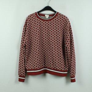 GP&J Baker x H&M Sweatshirt Gr. M rot gemustert (20/10/067*)