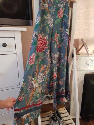 H&M Pantalon Marlene bleu pétrole