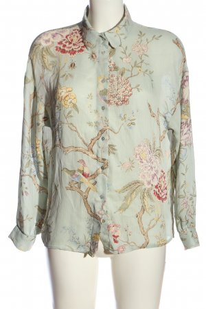 GP & JBAKER X H&M Langarm-Bluse abstraktes Muster Casual-Look