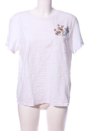 GP & JBAKER X H&M T-Shirt weiß Motivdruck Casual-Look