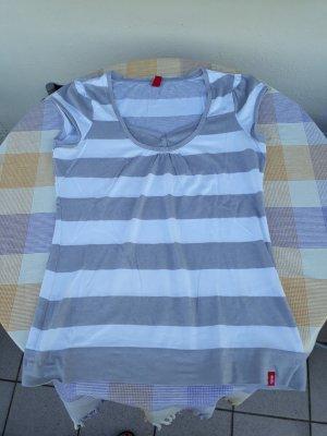 Gr. 36/38 Shirt von edc weiß- grau neuwertig