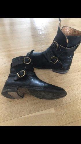 Fiorentini & baker Chukka boot noir-beige