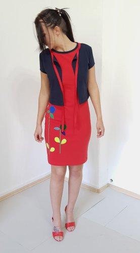 Gr.38-40, SET Kleid und Jäckchen in Rot und Blau. Ungetragen.