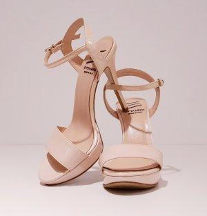 Evita High Heels multicolored leather