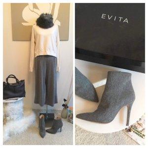 Gr. 38 Evita Stiefeletten grau