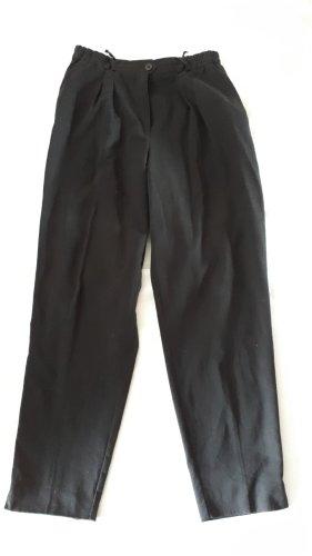 Gr. 42 Damen Hose Schwarz klassisch Hosentaschen