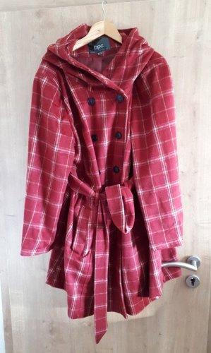 bpc Manteau court rouge foncé-magenta polyester