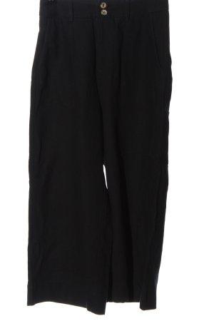 Grace&Mike Falda pantalón de pernera ancha negro estilo «business»
