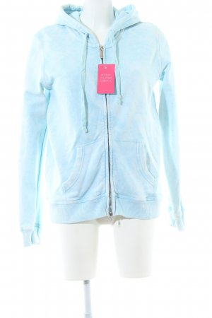 Grace Sweatjacke blau Motivdruck Casual-Look