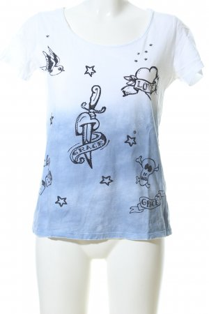 Grace T-Shirt Farbverlauf Casual-Look