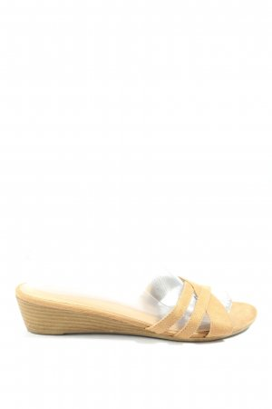 Graceland Heel Pantolettes natural white casual look