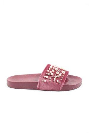 Graceland Badeslipper pink Casual-Look