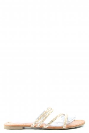Graceland Riemchen-Sandalen goldfarben Casual-Look