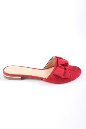 Graceland Zomerschoenen met hak rood casual uitstraling