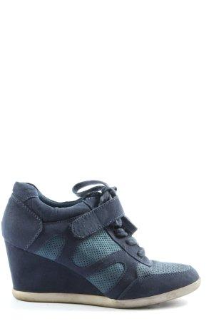 Graceland Heel Sneakers blue casual look
