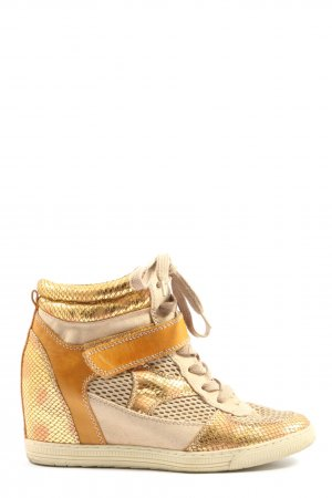 Graceland Sneakresy na obcasie Wielokolorowy W stylu casual