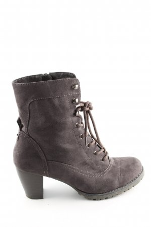 Graceland Absatz Stiefel braun Business-Look
