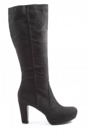Graceland Heel Boots black business style