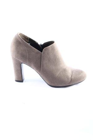Graceland Ankle Boots hellgrau Business-Look