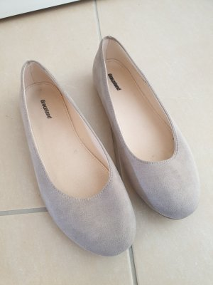 Graceland Slingback Ballerinas light grey-cream