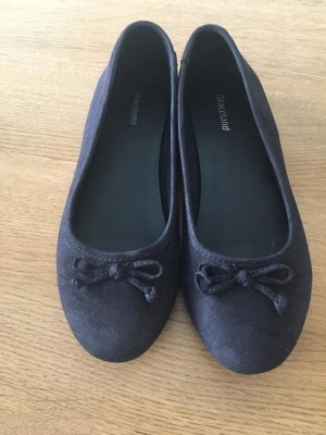 Deichmann Ballerinas with Toecap black