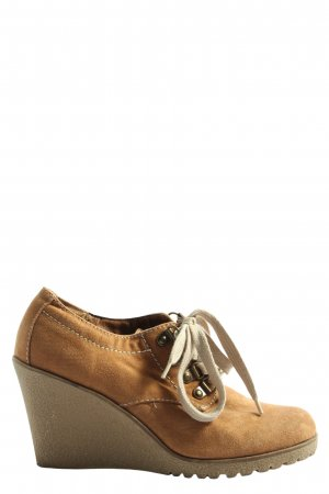 Graceland Booties hellorange Casual-Look