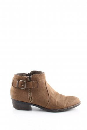 Graceland Booties brown casual look