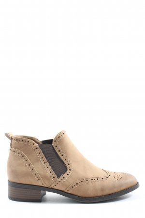 Graceland Booties wollweiß Casual-Look