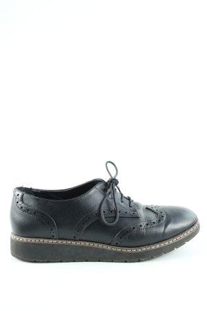 Graceland Budapest schoenen zwart casual uitstraling