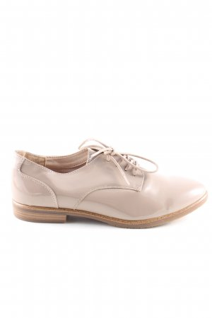 Graceland Zapatos Oxford con puntera crema estilo «business»