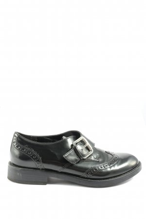 Graceland Zapatos Oxford con puntera negro estilo «business»