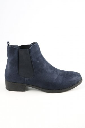 Graceland Chelsea Boots blau Business-Look
