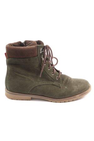 Graceland Desert Boots khaki-braun Casual-Look