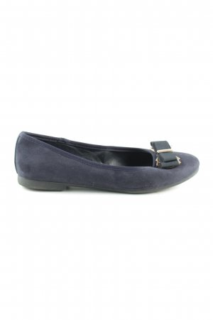 Graceland faltbare Ballerinas blau Casual-Look