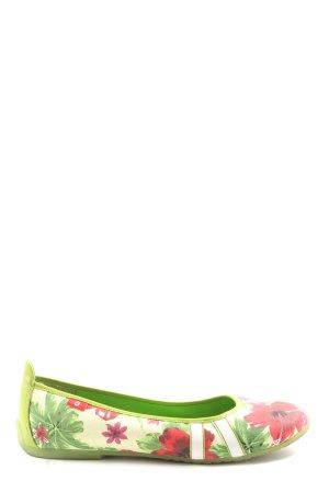 Graceland faltbare Ballerinas Allover-Druck Casual-Look