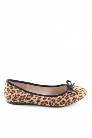 Graceland Opbouwbare ballerina's luipaardprint casual uitstraling