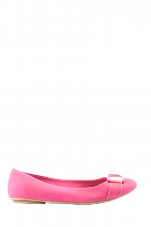 Graceland faltbare Ballerinas pink Casual-Look
