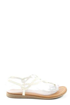 Graceland Flip Flop Sandalen weiß Casual-Look